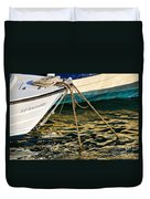 Sparrow At Lyme Regis Duvet Cover