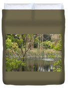 Sparrow In A Tree Duvet Cover
