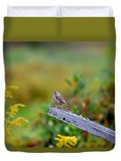 Sparrow On Board Duvet Cover