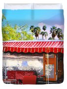 Spartan Manor Palm Springs Duvet Cover