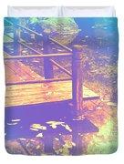 Speak Softly Autumn Reflections Duvet Cover