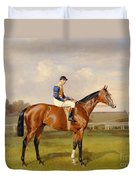 Spearmint Winner Of The 1906 Derby Duvet Cover by Emil Adam