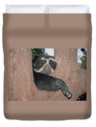Spectacled Bear In Andean Foothills Peru Duvet Cover