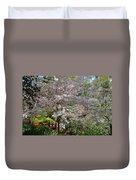 Spectacular Japanese Garden Duvet Cover