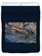 Spectacular View Of Rice Terrace Duvet Cover