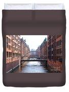 Speicherstadt Hamburg Duvet Cover