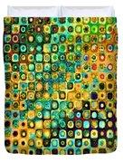 Spex Future Abstract Art Duvet Cover