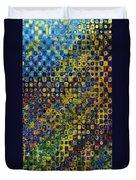 Spex Pseudo Abstract Art Duvet Cover