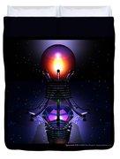 Spheramid 12  Duvet Cover