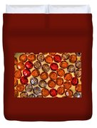 Spheres Of Beads Duvet Cover