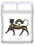 Sphinx - Mythical Creature Of Ancient Egypt Duvet Cover