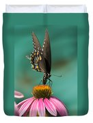 Spicebush Swallowtail Butterfly - Papilio Troilus Duvet Cover