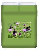 Spicebush Swallowtail Heaven Duvet Cover