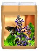 Spicebush Swallowtail Duvet Cover