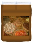 Spices From The East Duvet Cover