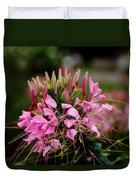 Spider Flower Duvet Cover
