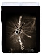 Spider In Waiting Duvet Cover