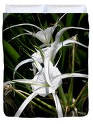Spider Lily Duvet Cover