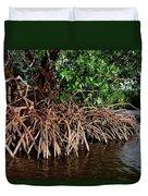Spider Mangroves Oro Bay Duvet Cover
