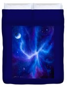 Spider Nebula Duvet Cover by James Christopher Hill