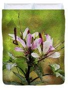 Spider Plant Duvet Cover