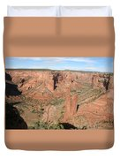 Spider Rock  Canyon De Chelly Duvet Cover