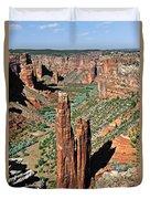 Spider Rock Canyon De Chelly Duvet Cover