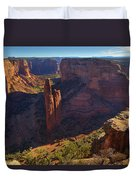 Spider Rock Sunrise Duvet Cover