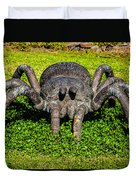 Spider Sculpture Duvet Cover