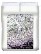 Spider Web Art 3 Duvet Cover