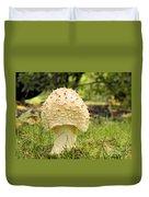 Spiked Mushrooms Duvet Cover