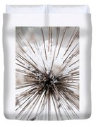 Spikes And Ice Duvet Cover