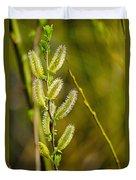 Spiky Green Plant Duvet Cover