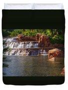 Spilling Over Waterfall Duvet Cover