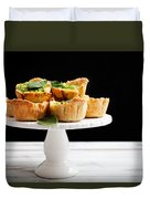Spinach Pie Duvet Cover