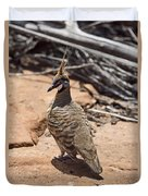 Spinifex Pigeon V3 Duvet Cover