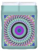 Spinning Colors Mandala Duvet Cover