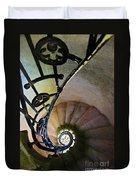 Spinning Stairway Duvet Cover
