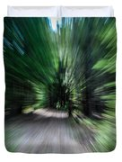 Spinning Through The Woods Duvet Cover