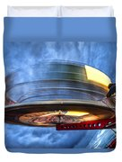 Spinning Up The Universe Duvet Cover