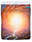 Spiral Glow Duvet Cover