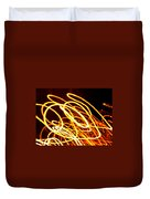 Spiral Light Among Dwellers About The City 2 Duvet Cover
