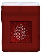 Spiral Of Evolution Expand Your Perception  Duvet Cover