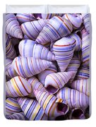 Spiral Sea Shells Duvet Cover
