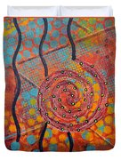 Spiral Series - Timber Duvet Cover