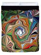 Spiral Splendor Duvet Cover