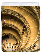 Spiral Staircase Duvet Cover by Stefano Senise