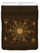 Spiral Wings Duvet Cover