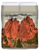 Spires To The Sky Duvet Cover