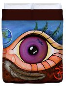Spirit Eye Duvet Cover